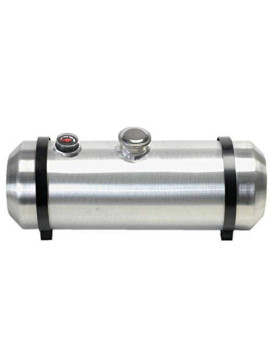 10 Inches X 26 Spun Aluminum Gas Tank 8.25 Gallons With Sight Gauge For Dune Buggy, Sandrail, Hot Rod, Rat Rod, Trike