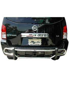 Vanguard Off Road Vgrbg-0940Ss For Nissan Pathfinder 2008-2012 Rear Bumper Guard Stainless Steel Double Tube Style