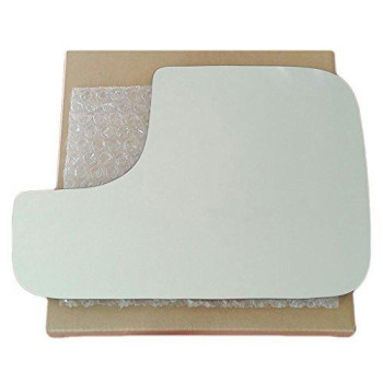 Mirror Glass and Adhesive | 02-08 Dodge Ram Pickup Driver Left Side Replacement - FITS THE TOWING MIRROR ONLY
