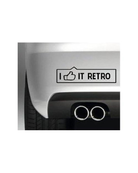 Like It Retro Vinyl Decal (External Fitting)