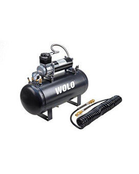 Wolo (860) Air Rage Heavy-Duty Compressor With 5 Gallon Capacity Tank