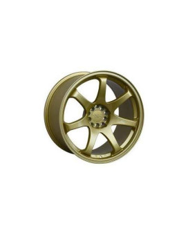 XXR 551 17 Gold Wheel / Rim 4x100 & 4x4.5 with a 22mm Offset and a 73.1 Hub Bore. Partnumber 551784670