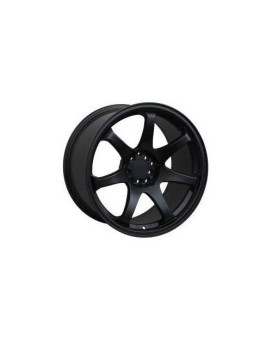 XXR 551 17 Black Wheel / Rim 5x100 & 5x4.5 with a 36mm Offset and a 73.1 Hub Bore. Partnumber 551781022