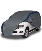 Duck Covers A3SUV229 Weather Defender SUV Cover for SUVs/Pickup Trucks with Shell or Bed Cap up to 19' 1""