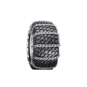 Snow Tire Chains For Atv, Snow Blower / Thrower 2 Link 5.00 X 5.70 X 8