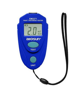 all-sun EM2271 Blue Digital Painting Thickness Meter, 1 Pack