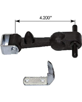 Universal Hood Latch With Clamp Hlk1002