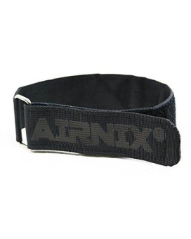 "AIRNIX 4pc 18"" x 1.5"" Nylon Webbing Hook and Loop Cinch Straps, Reusable Fastening, Securing, Cable Straps"
