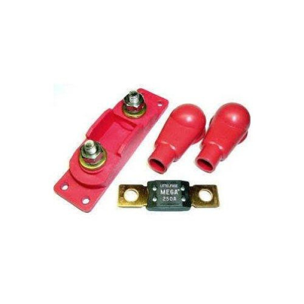 Buy Fastronix 250 Amp Mega  Amg Fuse Holder Kit Online At Low Prices In Usa