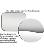 QAA FITS TOWN CAR 1990-1994 LINCOLN (1 Pc: Stainless Steel Fuel/Gas Door Cover Accent Trim, 4-door) GC30680