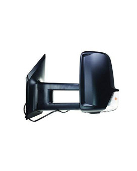 Tyc 8420022 Non Heated Left Replacement Mirror