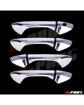 A-Pads 4 Chrome Door Handle Covers For Honda Accord 2008-2012 - Without Passenger Keyhole
