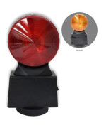 Road Genie Red &Amp; Amber Hazard Flasher Light - Led - Double-Sided