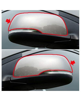 Sell By Automotiveapple, Oem Side Mirror Cover Led Type 3D Silver Lh Rh 2-Pc Set For 2011 ~ 2015 Kia Picanto : Morning
