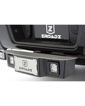 "Zroadz Universal- Universal Accessories Z390011-Kit Black 2-1/2"" Hitch Step With Led"