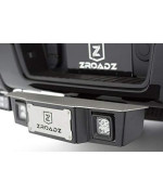 "Zroadz Universal- Universal Accessories Z390010-Kit Black 2"" Hitch Step With Led"