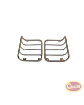 Tail Lamp Guards (Pair) - Crown# Rt34080