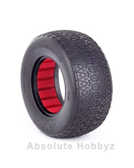 Aka Racing Chain Link Wide Short Course Tires (Soft) (2)