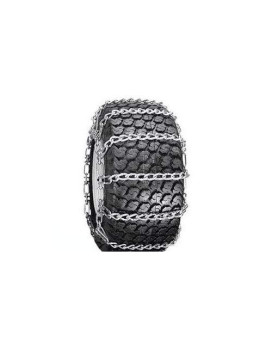 Snow Tire Chains For Atv, Snow Blower / Thrower 2 Link 13 X 5.00 X 6