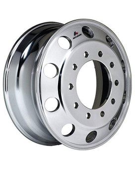"Accuride 24.5"" x 8.25"" Aluminum 10 on 285mm Polished Both Sides Wheel (41362XP)"