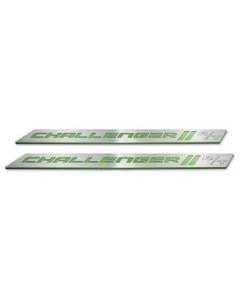 American Brother Designs ABD-3202PFBRT Sublime Door Sill, Set of 2 (Color Matched Color-Sublime-Paint Code PFB, Challenger R/T Logo)