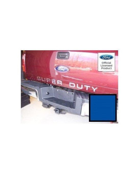 Ford Super Duty Letter Inserts (Thin) For Tailgate - Cblu (2008-2016) F250 F350 F450 Decals Stickers (Blue)