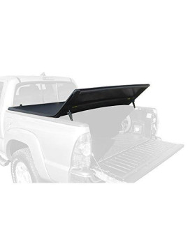 Tyger Auto TG-BC3T1530 TRI-FOLD Truck Bed Tonneau Cover 2016-2018 Toyota Tacoma   Fleetside 5' Bed   For models with or without the Deckrail System