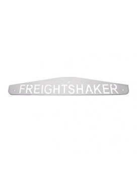 "United Pacific 10440 4"" X 24"" Freightshaker Bottom Mud Flap Plate (Bolt Thru)"