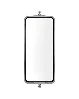 """United Pacific 60028 Stainless Steel 7"""" X 16"""" West Coast Mirror"""