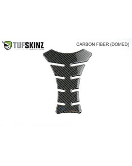 Tufskinz | Raised Carbon Fiber Motorcycle Gas Tank Protector