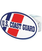 Us Coast Guard Hitch Cover With Quick Loc