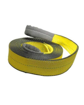"""American Industrial 4"""" X 20' 2 Ply Recovery Tow Strap / 13,066 Lbs. Working Load Limit"""