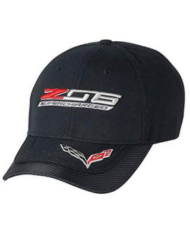 Z06 C7 Corvette Carbon Fiber Cap (Black) One Size