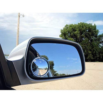 "Zento Deals 4 Pcs 2"" Rearview Blind Sport Mirrors Stick-On"