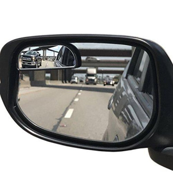 Utopicar Nbsm67 Blind Spot Mirrors, Car Mirror For Blind Side, Door Mirrors For Large Image And Traffic Safety, Awesome Rear View, Adjustable, 2 Piece