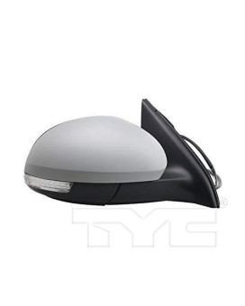 Tyc 8650041 Volkswagen Tiguan Non Heated Replacement Right Mirror