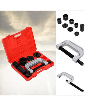 4-in-1 Ball Joint Service Auto Tool Set Auto Remover Installer Extractor Removal Mechanic Tool Kit 2WD & 4WD Auto Repair Brake