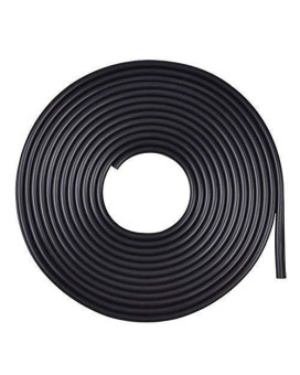 Yosoo 5M Car Door Edge Protector Door Trim Moulding Edge Guard Rubber Strip Anti-Scratch, Black