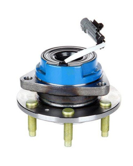 Scitoo 513198 Rear Wheel Hub Bearing Assembly fit 04-09 Cadillac SRX 6 Lugs w/ABS