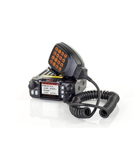 BTECH MINI UV-25X4 25 Watt Tri-band Base, Mobile Radio: 136-174mhz (VHF), 220-230mhz (1.25M), 400-520mhz (UHF) Amateur (Ham)
