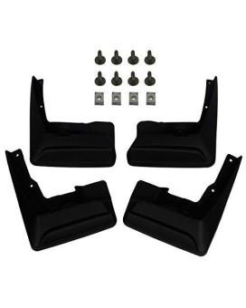 A-Premium Splash Guards Mud Flaps Mudflaps For Toyota Sienna 2011-2017 Front And Rear 4-Pc Set