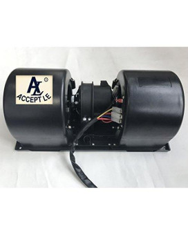ACCEPT-B6240221 24V Centrifugal Double/Twin Blower /Fan Motor/Unit/Enclosure 3 speed Universal bus Cocach Truck