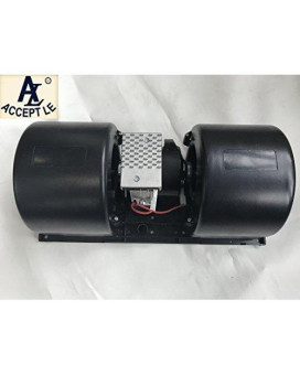 Accept-B6140222 12V Centrifugal Double/Twin Blower /Fan Motor/Unit/Enclosure 3 speed TRUCK BUS COACH …