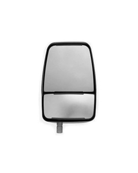 Velvac 714580 Replacement Mirror Head, Right Side, Black, Manual, 1 Pack