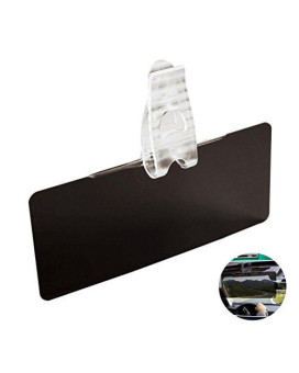 WINOMO Car Anti-Glare Tinted Windshield Extender - Anti-Glare Sun UV Rays Block Visor Extender for Any Car Truck or RV
