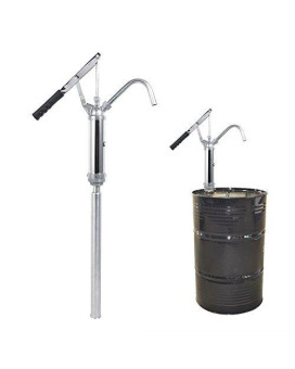 Lever Action Barrel Drum Pump Diesel Oil Transfer Hand Operated Extractor