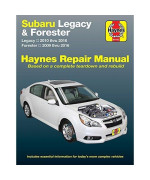 Haynes Repair Manual for Subaru Legacy, '10-'16, & Forester, '09-'16 (89102)