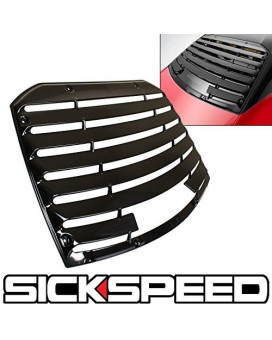 Rear Window Louvers Cover for FRS/BRZ