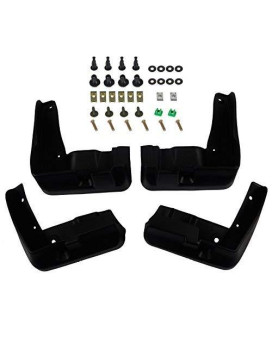 A-Premium Splash Guards Mud Flaps Mudflaps For Subaru Legacy 2010-2013 Sedan Only Front And Rear 4-Pc Set