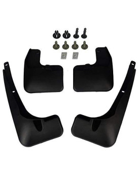 A-Premium Splash Guards Mud Flaps Mudflaps For Toyota Rav4 2016-2017 Front And Rear 4-Pc Set